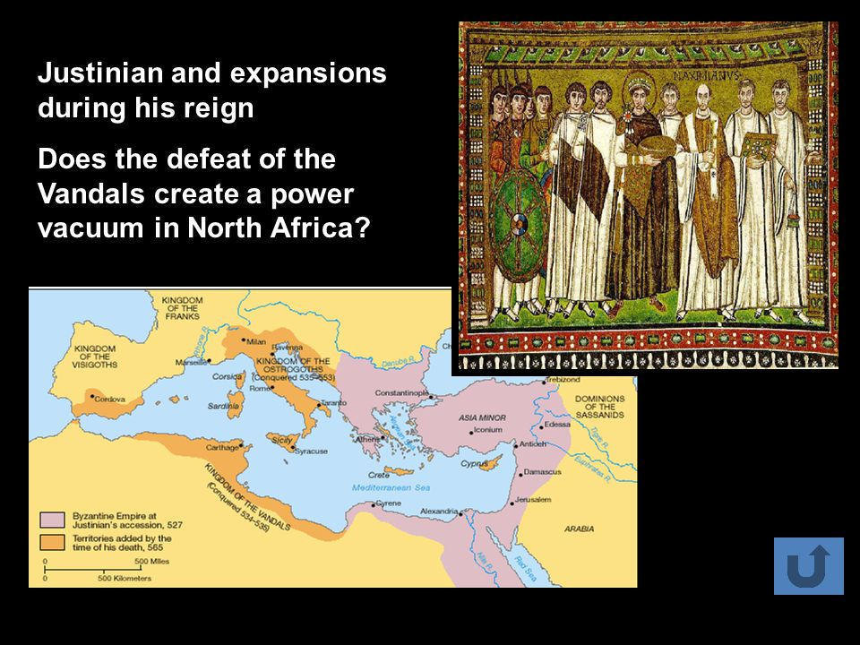 Justinian and expansions during his reign