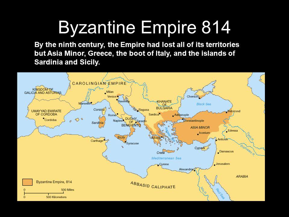 Byzantine Empire 814