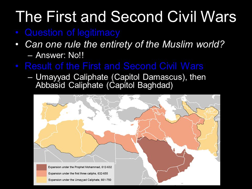 The First and Second Civil Wars