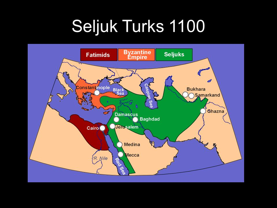 Seljuk Turks 1100
