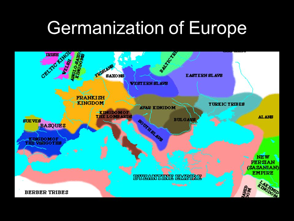 Germanization of Europe