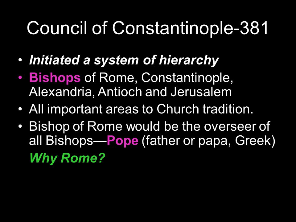 Council of Constantinople-381