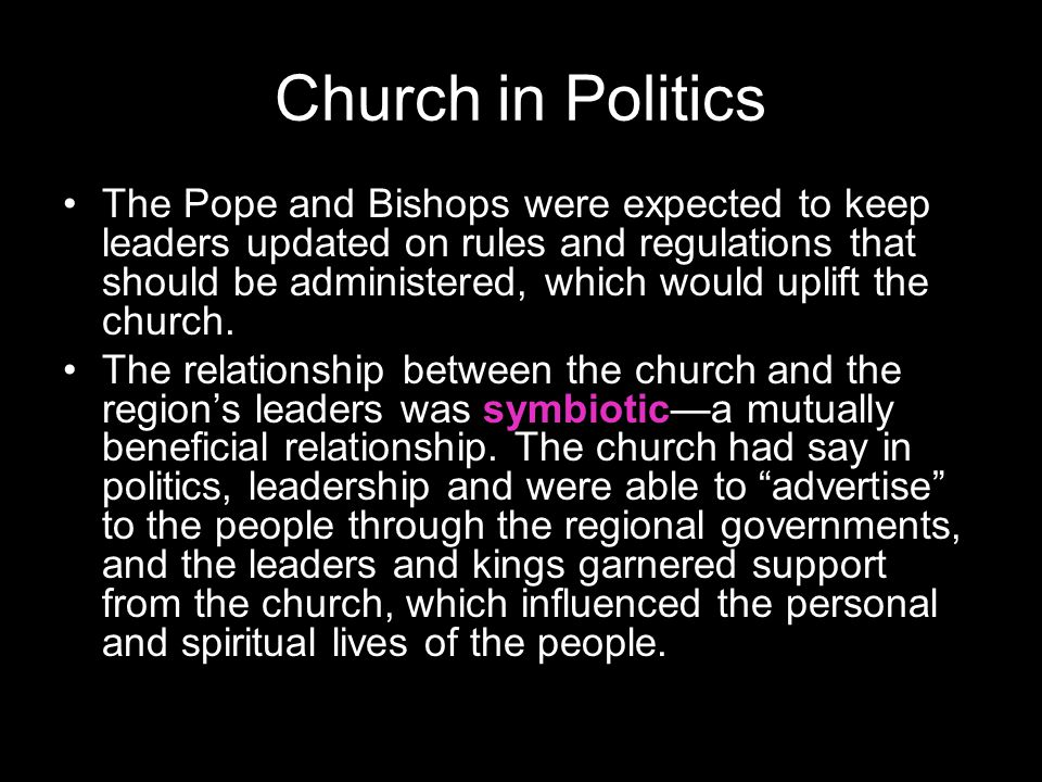 Church in Politics