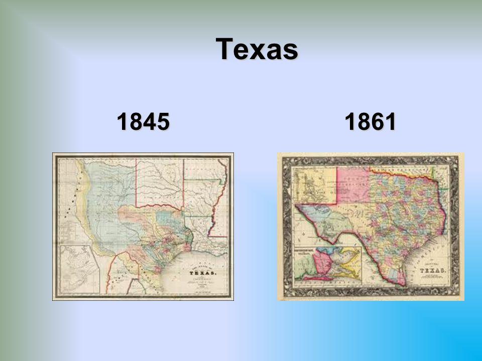 Texas 1845 1861