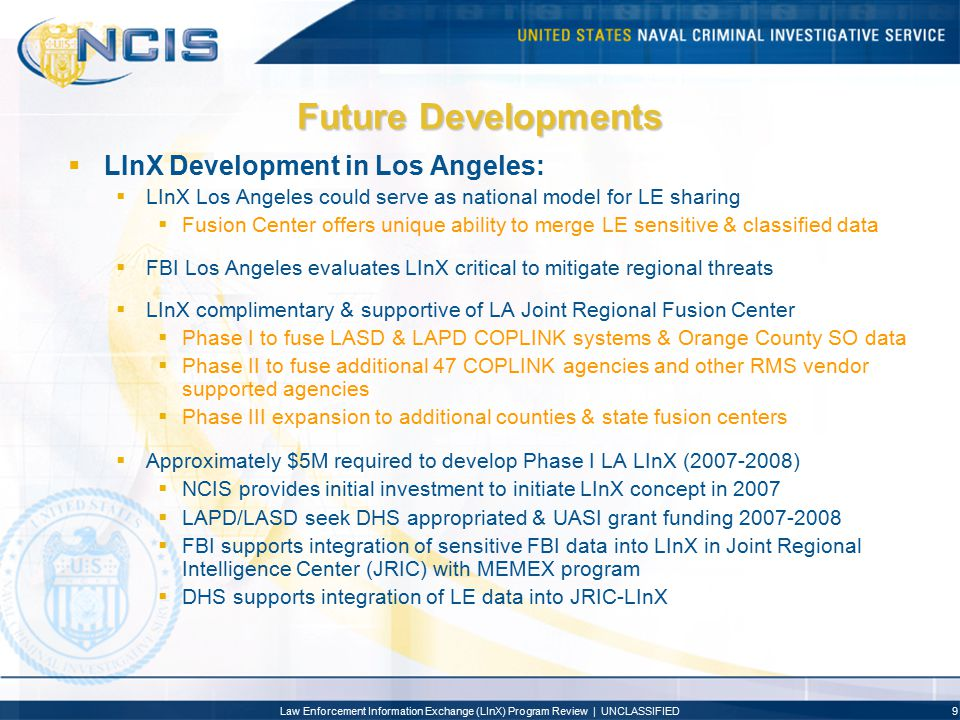 Future Developments LInX Development in Los Angeles: