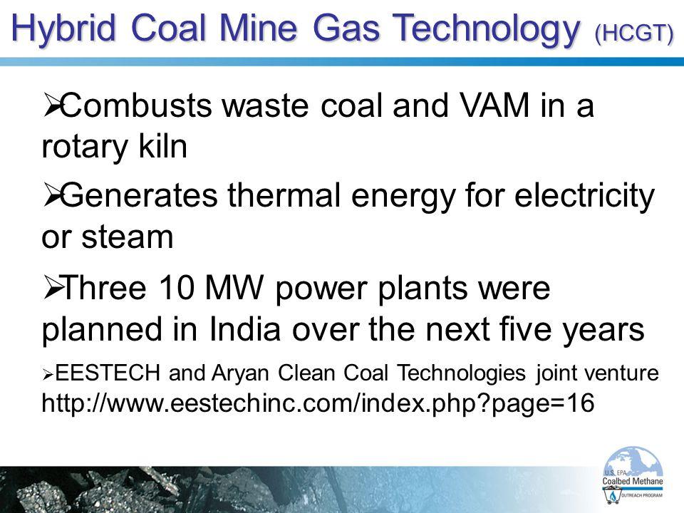 Hybrid Coal Mine Gas Technology (HCGT)