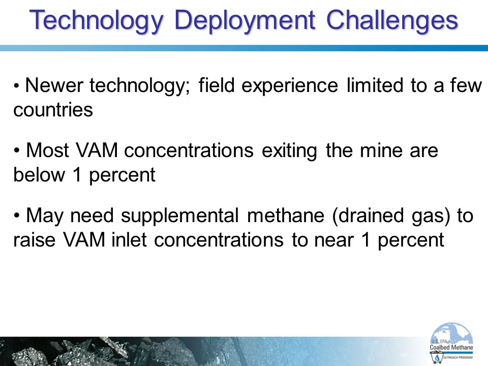 Technology Deployment Challenges