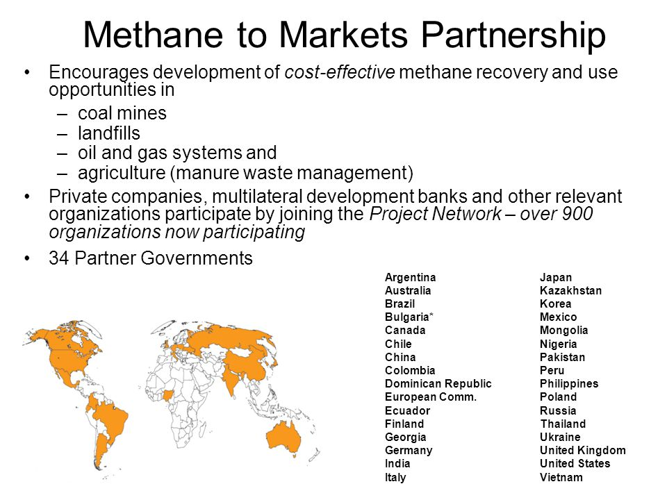 Methane to Markets Partnership