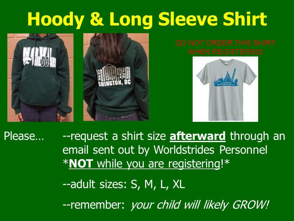 Hoody & Long Sleeve Shirt