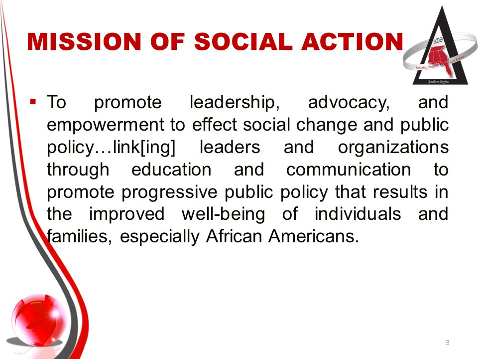 MISSION OF SOCIAL ACTION