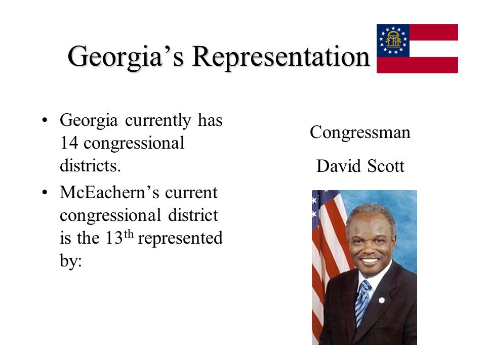 Georgia's Representation