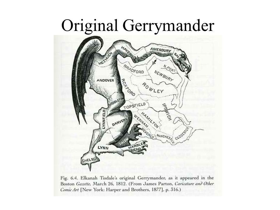Original Gerrymander