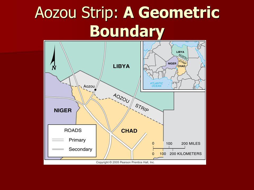 Aozou Strip: A Geometric Boundary