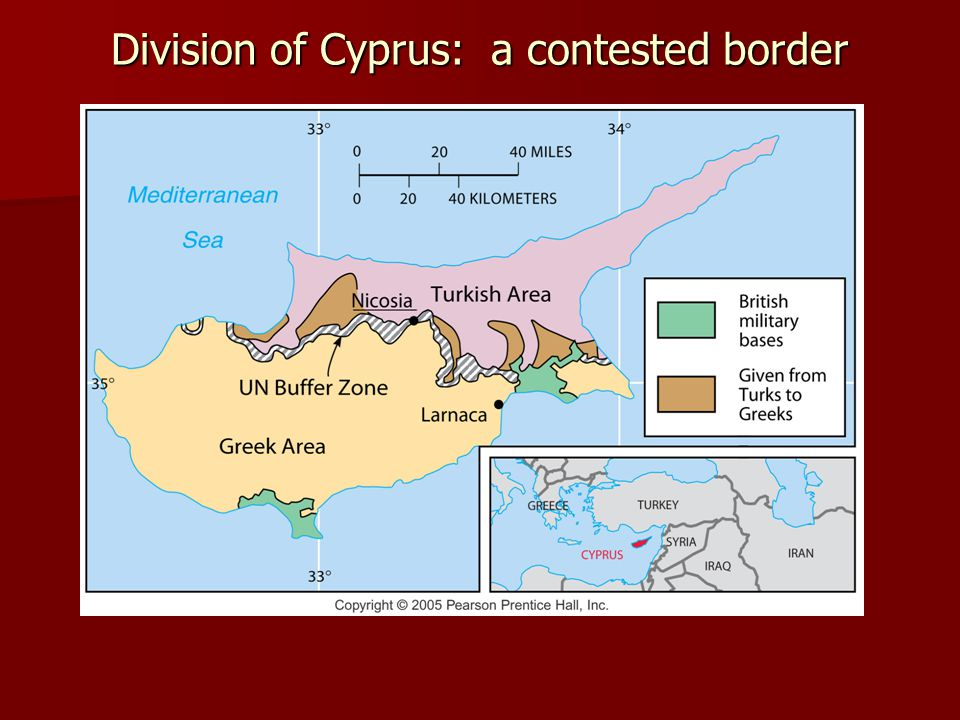 Division of Cyprus: a contested border