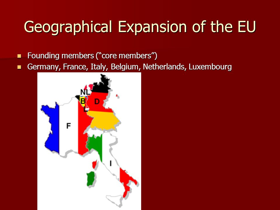 Geographical Expansion of the EU