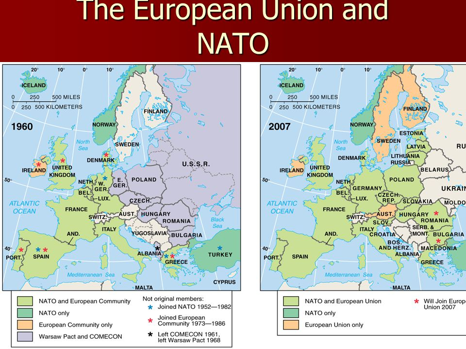 The European Union and NATO
