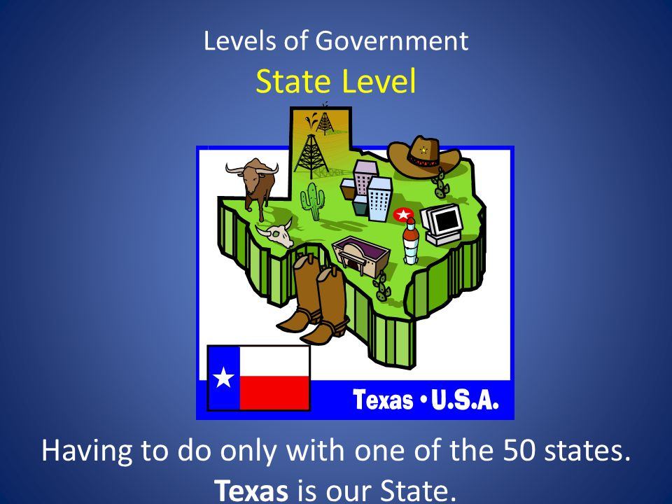 Levels of Government State Level