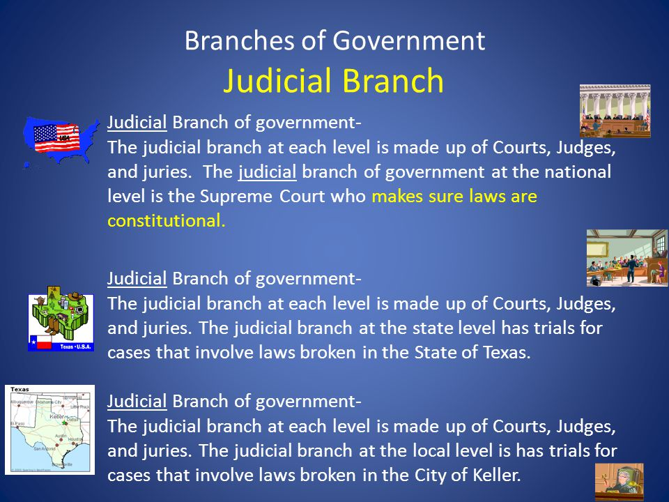 Branches of Government Judicial Branch