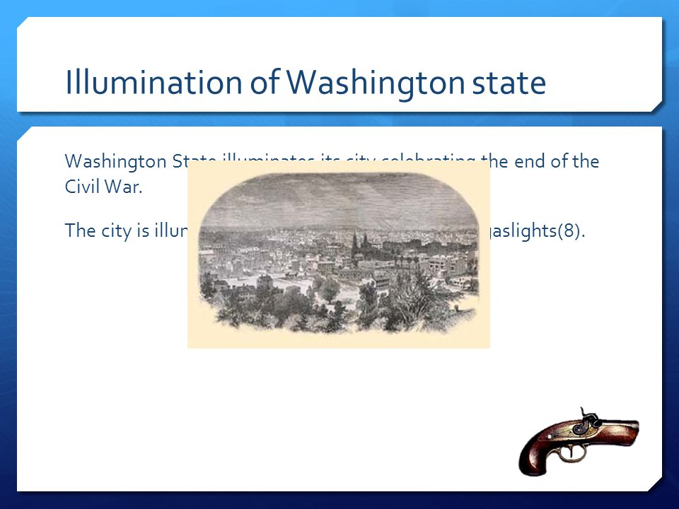 Illumination of Washington state