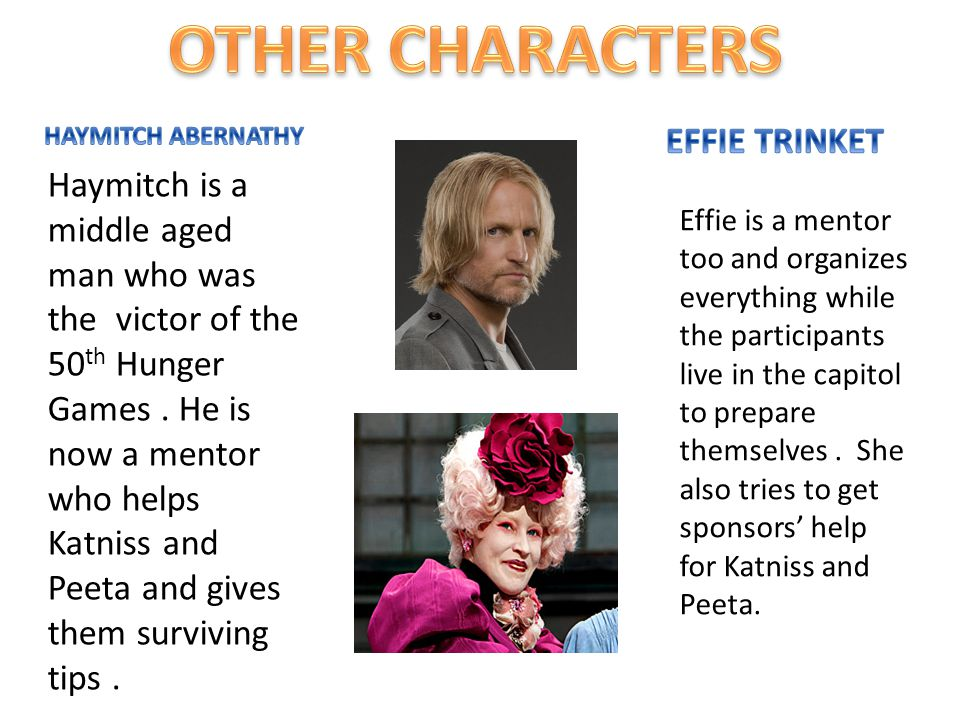 OTHER CHARACTERS EFFIE TRINKET