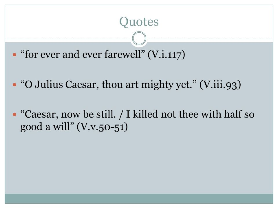 Quotes for ever and ever farewell (V.i.117)