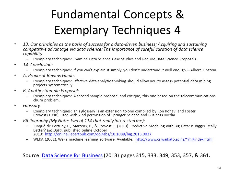 Fundamental Concepts & Exemplary Techniques 4