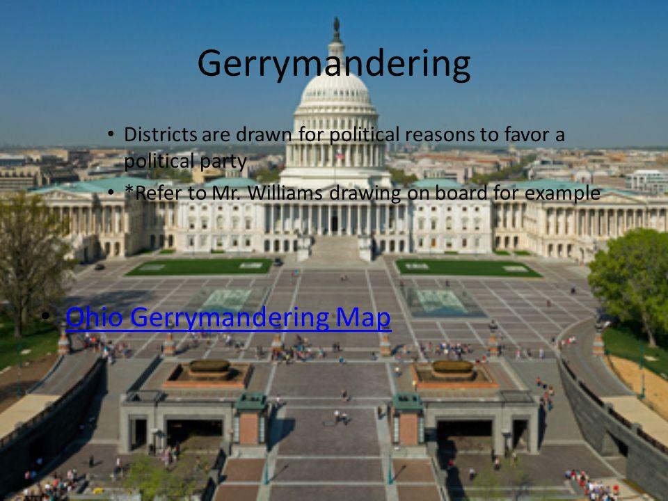 Gerrymandering Ohio Gerrymandering Map