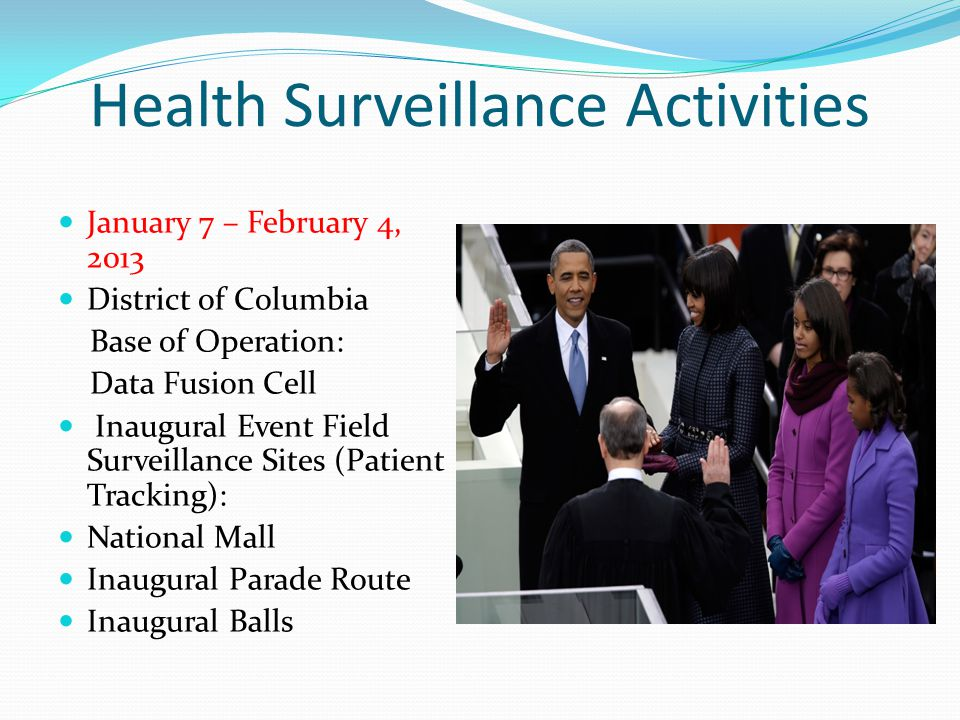 Health Surveillance Activities