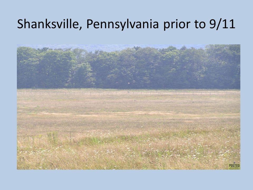 Shanksville, Pennsylvania prior to 9/11
