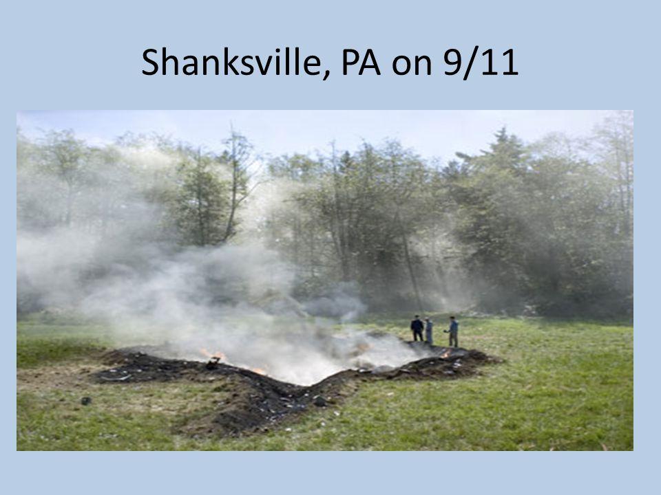 Shanksville, PA on 9/11