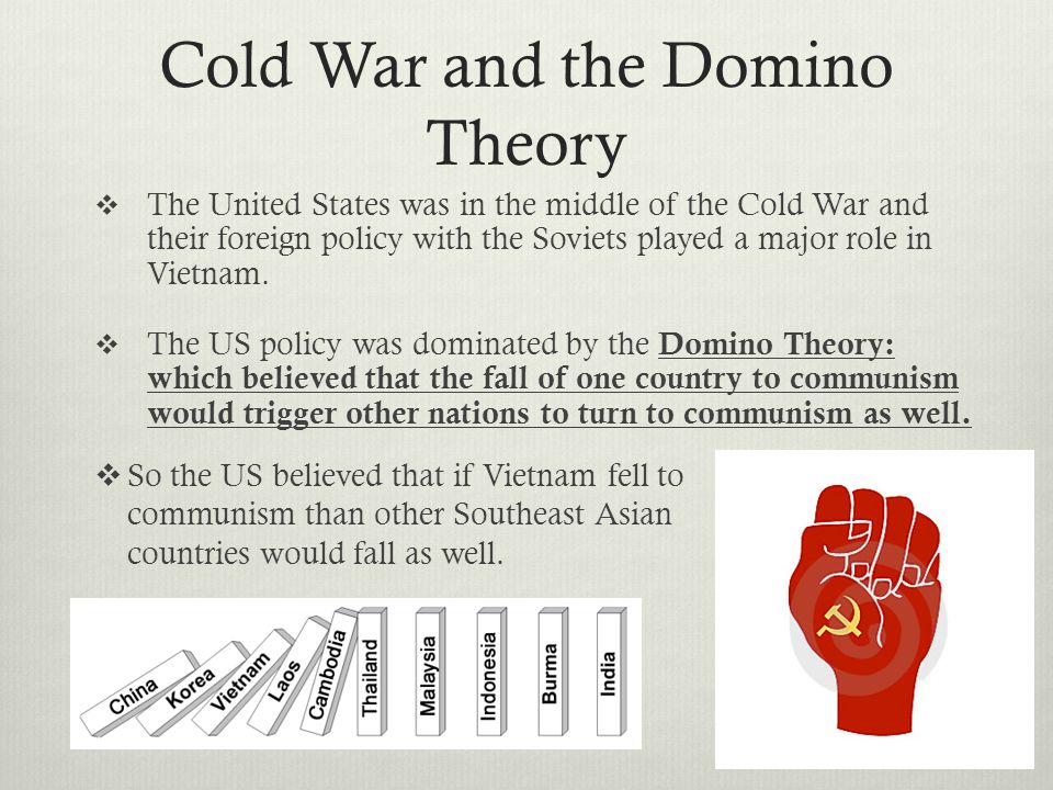 Cold War and the Domino Theory