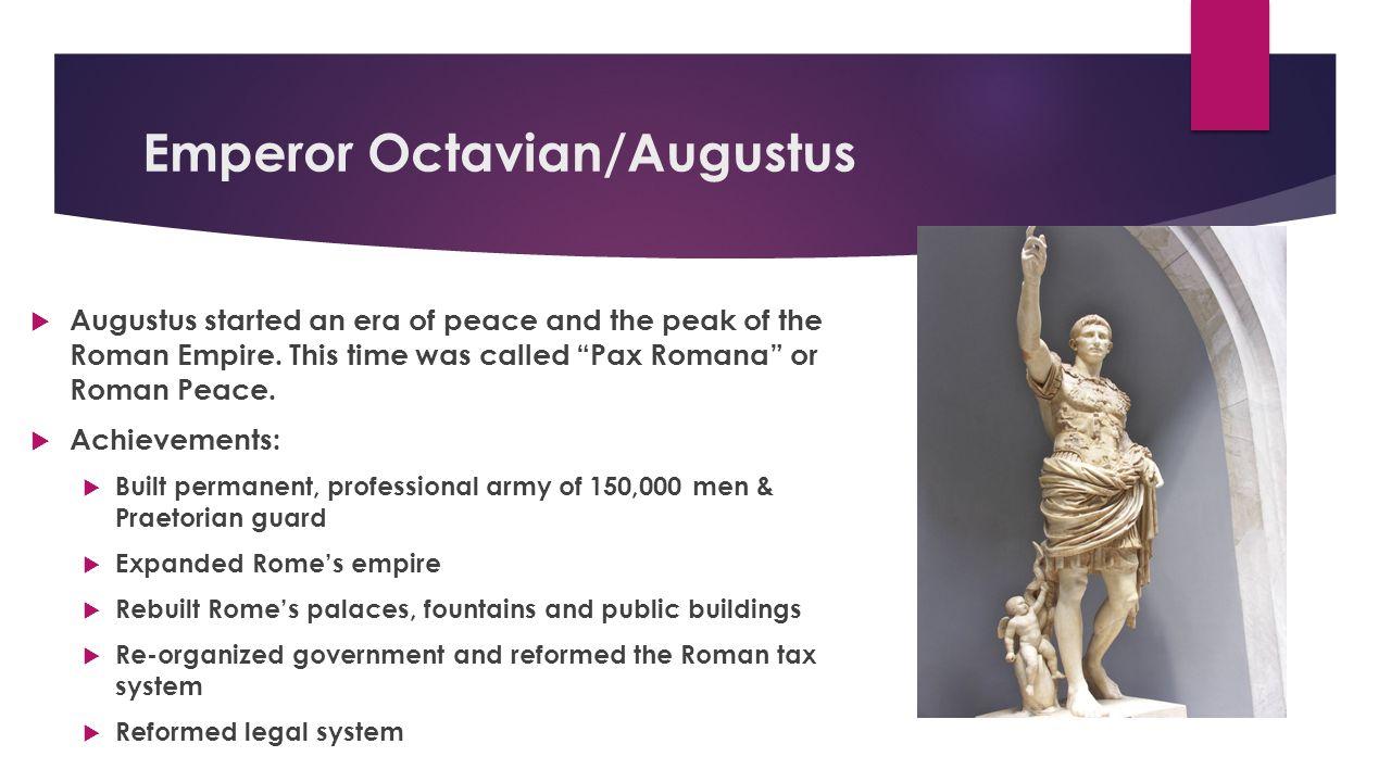 Emperor Octavian/Augustus