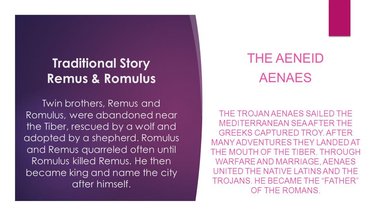 The Aeneid Aenaes.