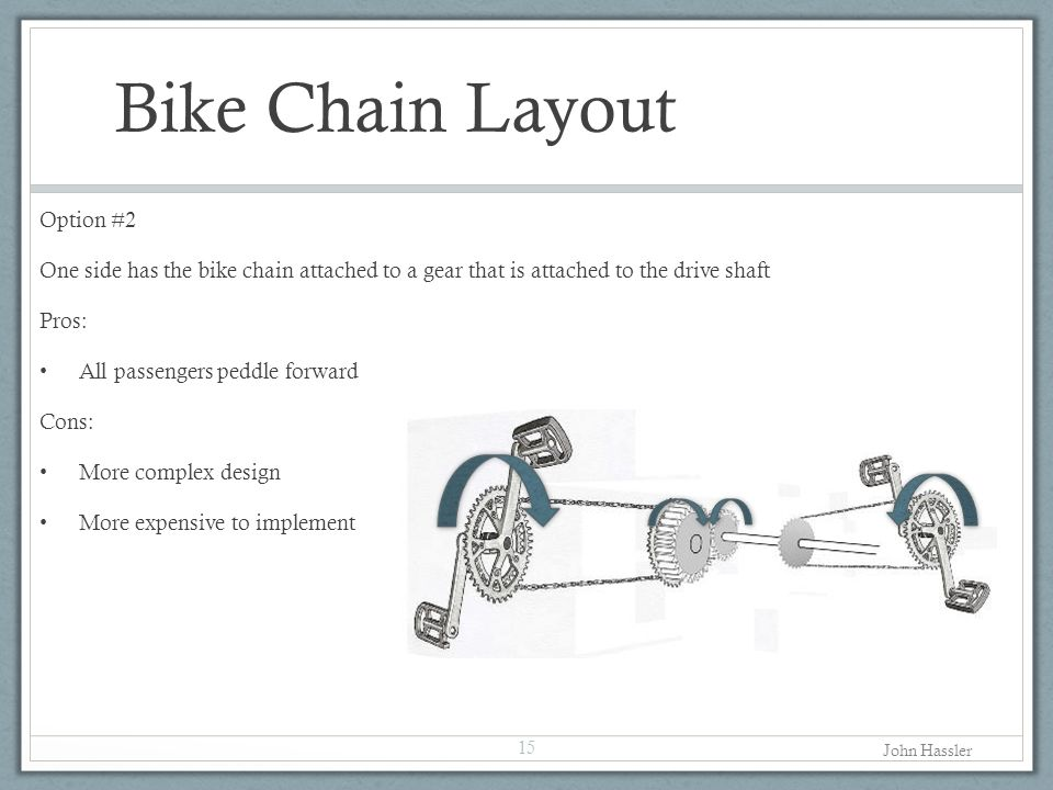 Bike Chain Layout Option #2