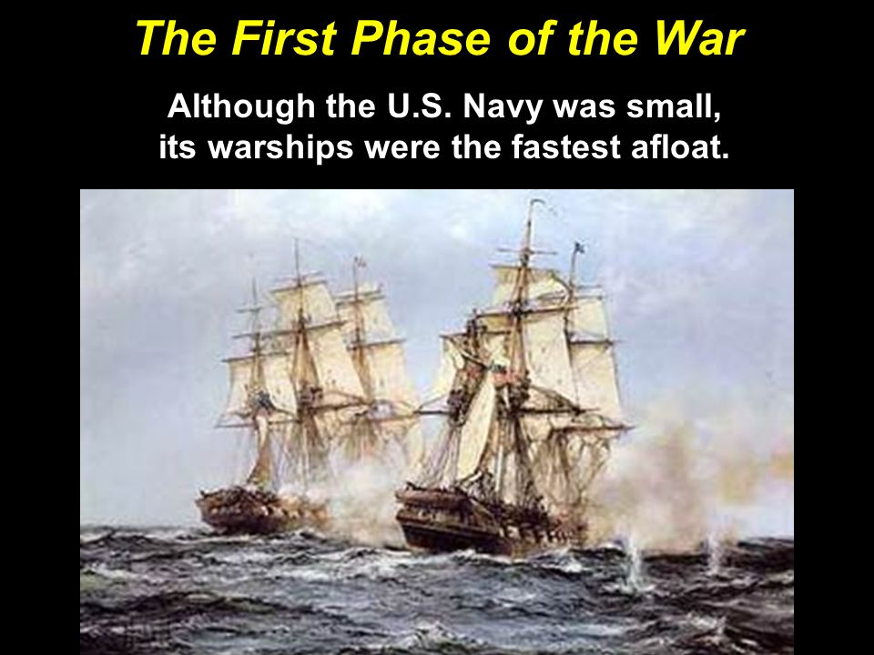 The First Phase of the War
