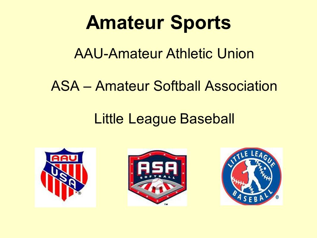 amateur athletic union of the