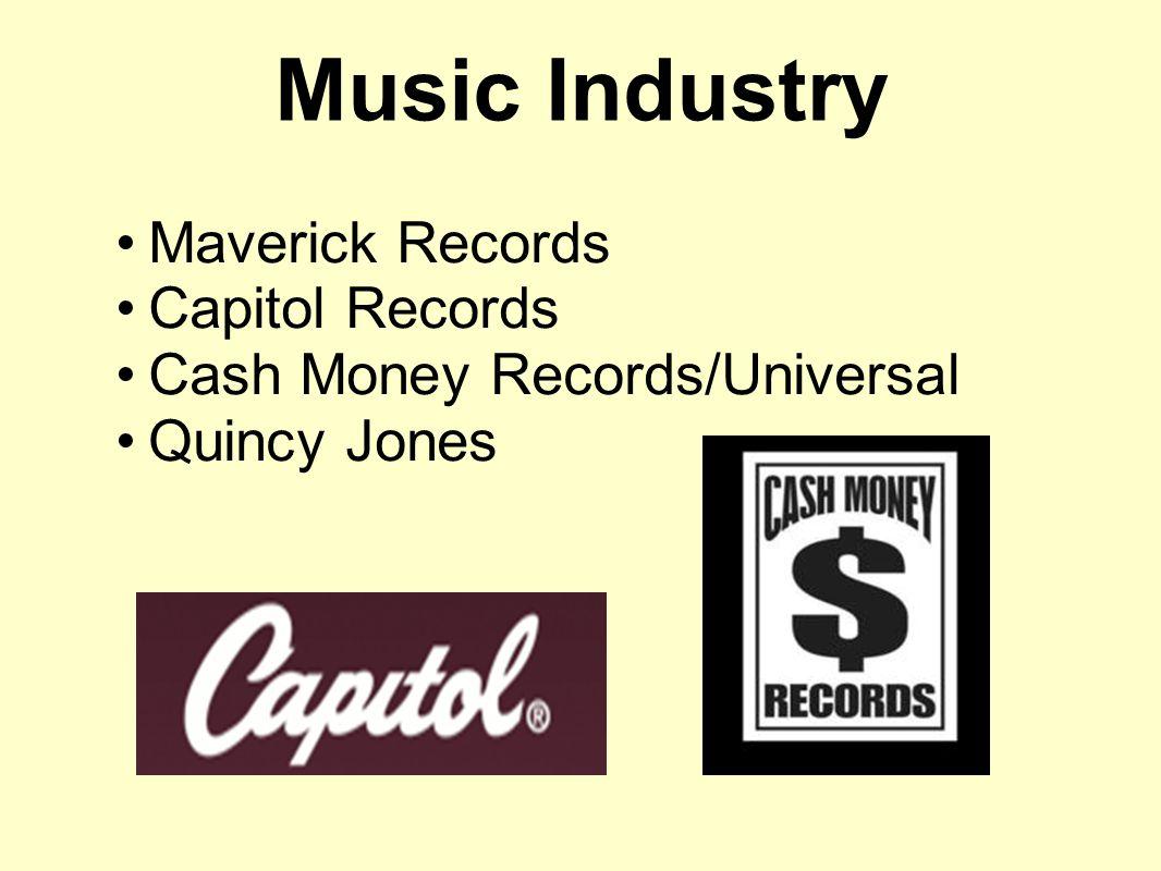 Music Industry Maverick Records Capitol Records