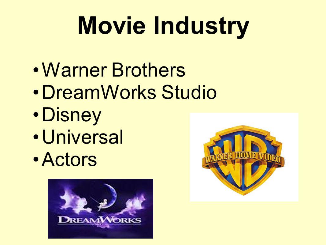 Warner Brothers DreamWorks Studio Disney Universal Actors