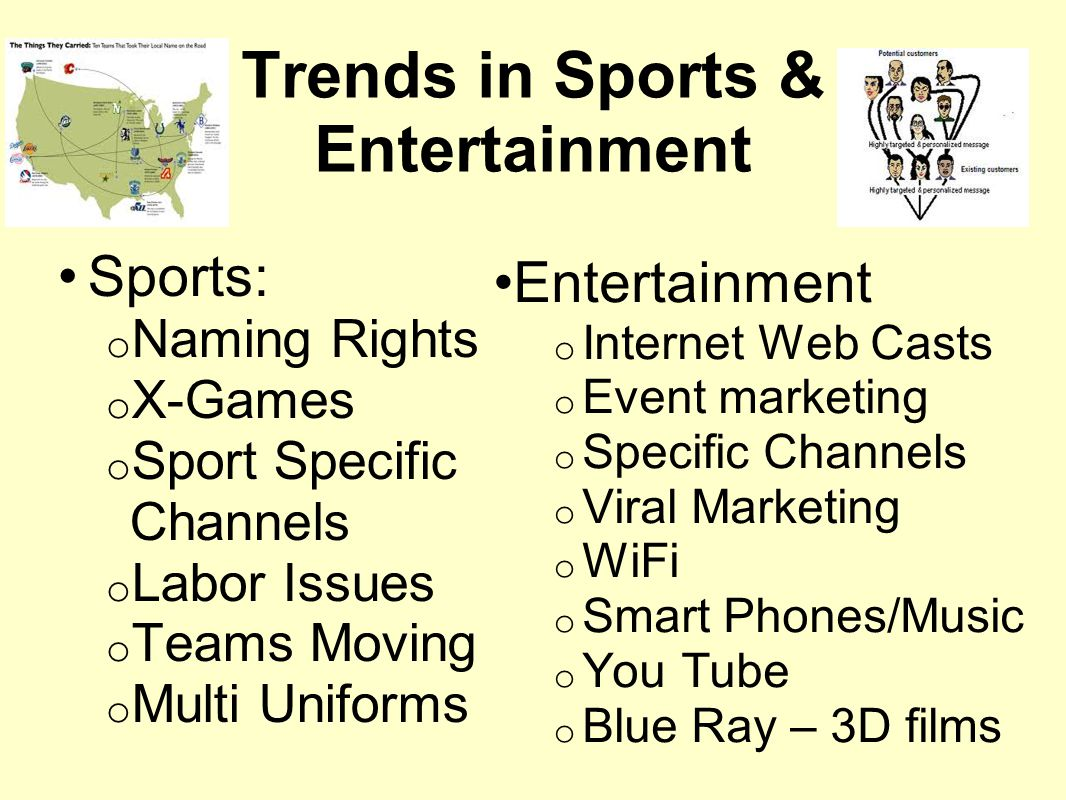 Trends in Sports & Entertainment