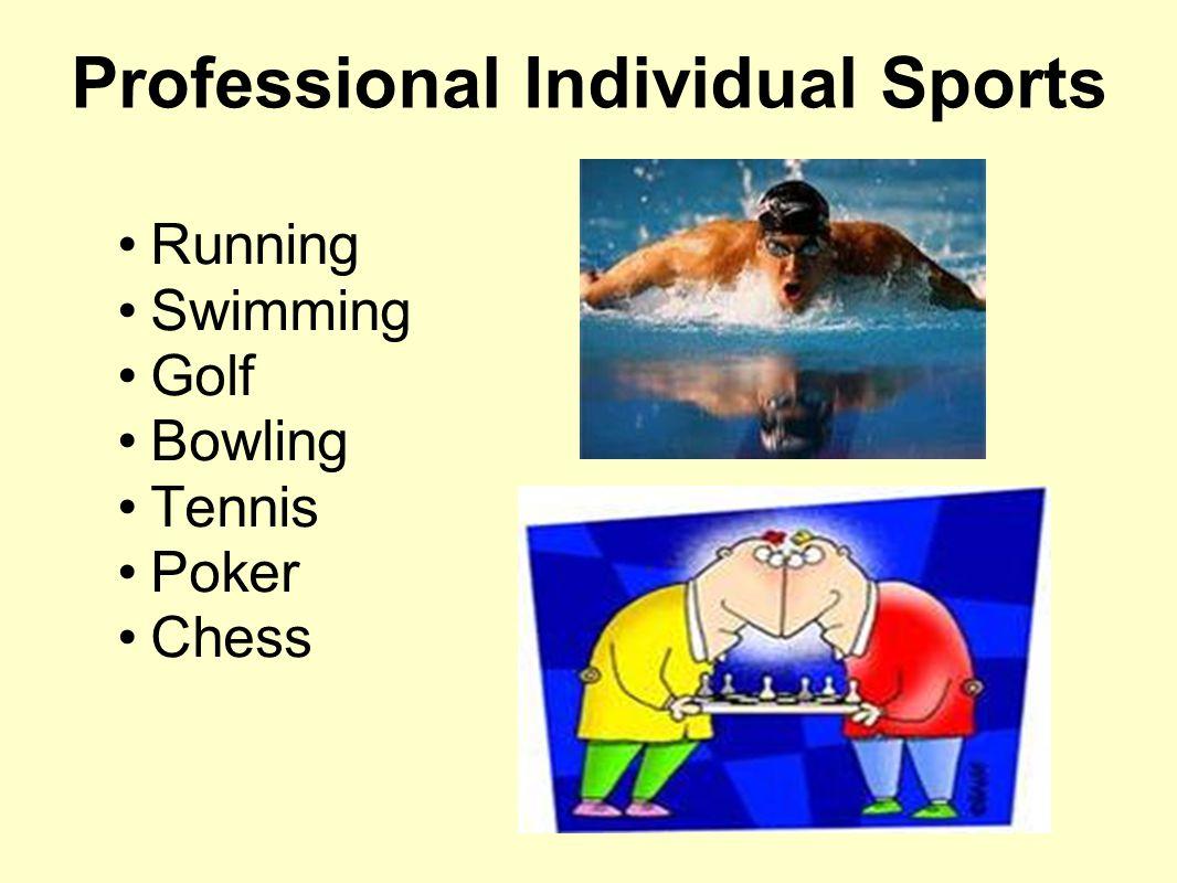 Professional Individual Sports