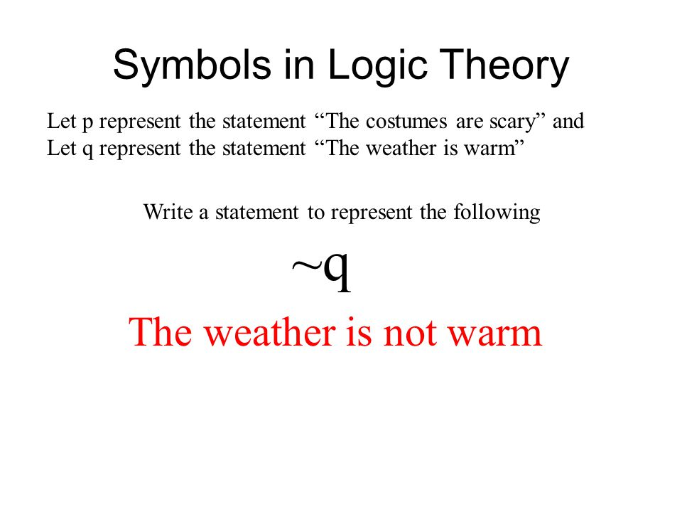Symbols in Logic Theory