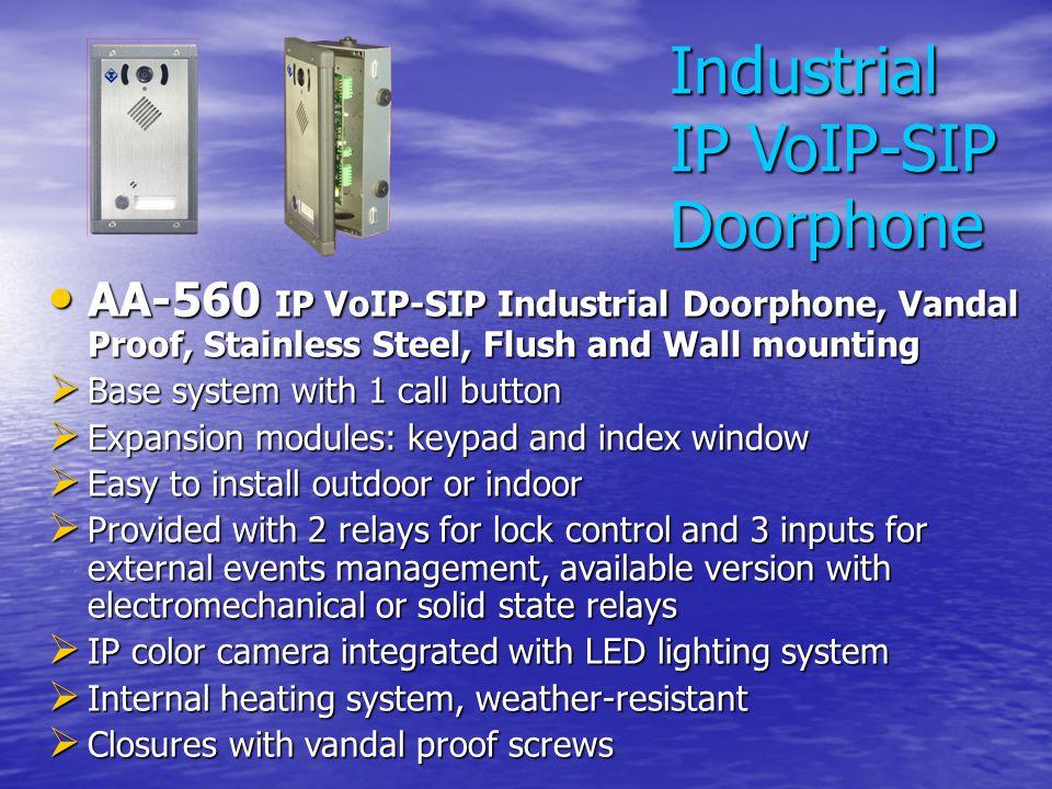 Industrial IP VoIP-SIP Doorphone