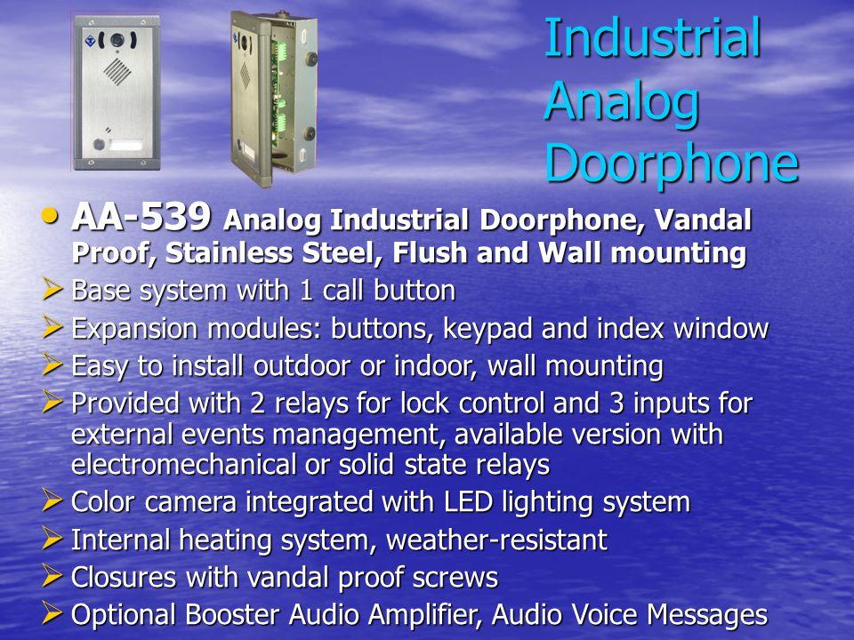 Industrial Analog Doorphone