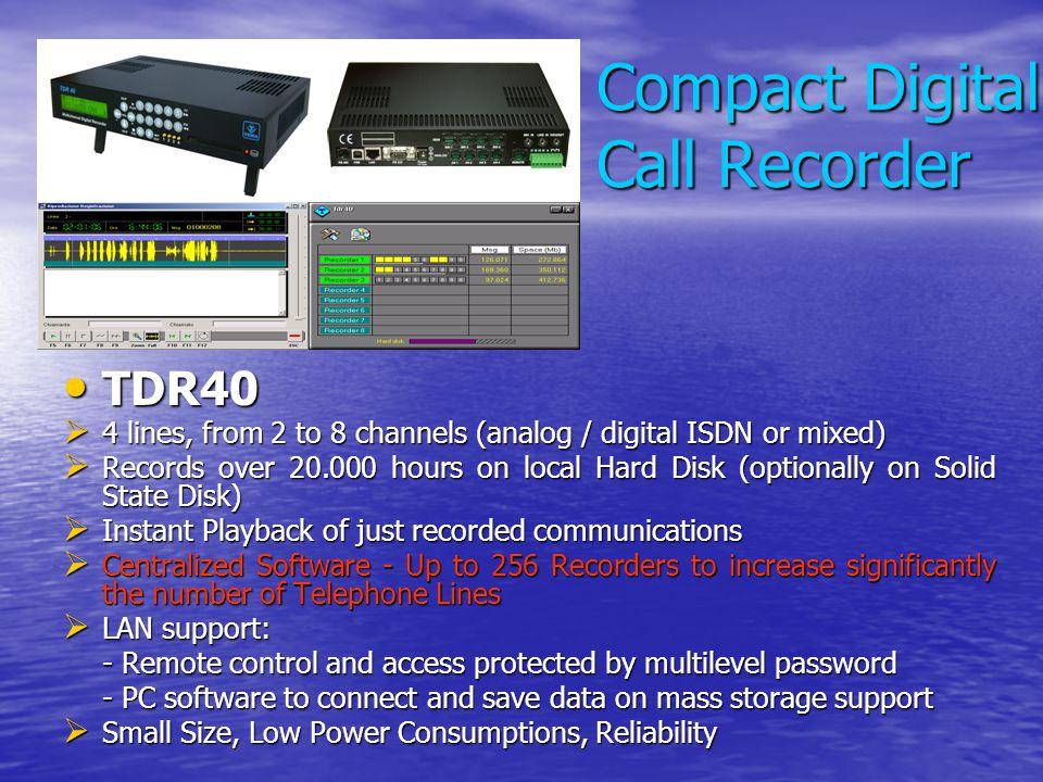 Compact Digital Call Recorder