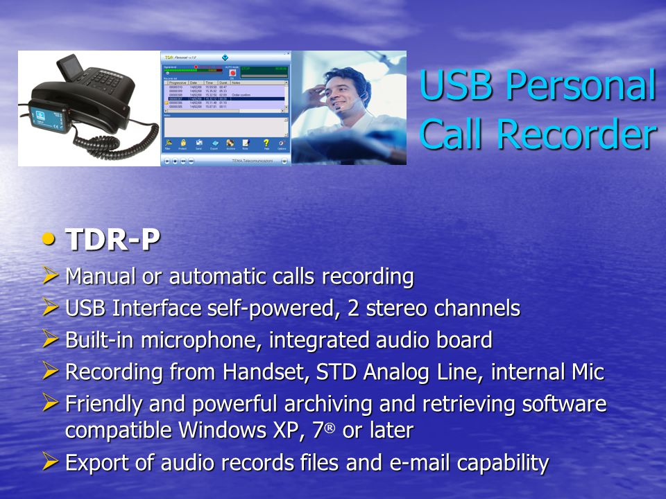 USB Personal Call Recorder