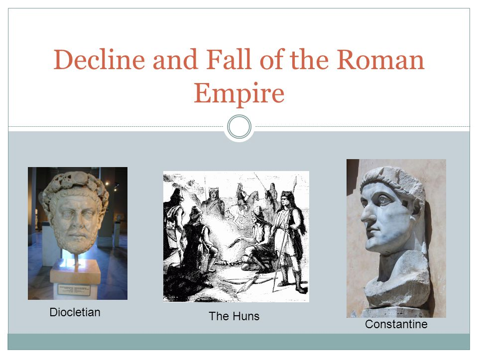 an introduction to the downfall of the western roman empire