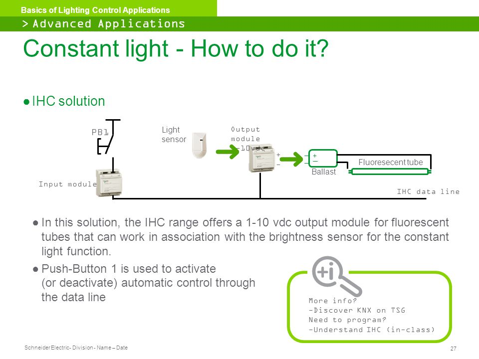 Constant light - How to do it