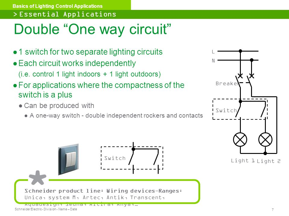 Double One way circuit