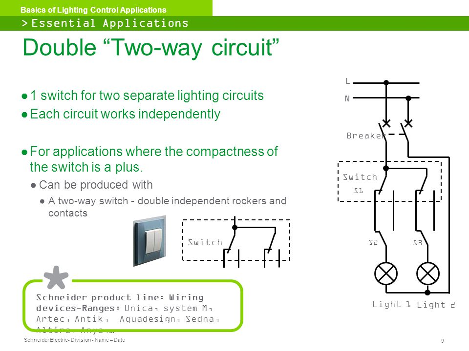 Double Two-way circuit