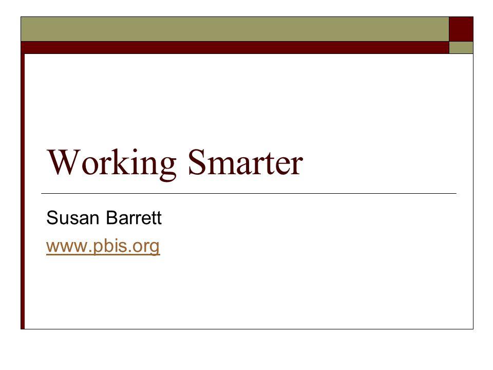 Susan Barrett www.pbis.org